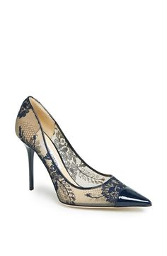 Oh so dainty lace Jimmy Choo pumps.