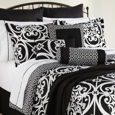 The Great Find- -Kennedy 16-Piece Complete Bed Set-Bed & Bath-Decorative…