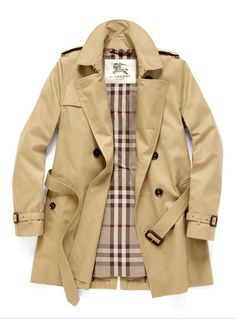 Cotton Blend Trench Coat - Burberry London