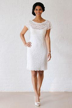 David's Bridal wedding dress, Fall 2012