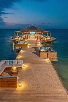 Enjoy sunset cocktails and ocean views at the NEW Latitudes Over Water Bar at Sandals Montego Bay! Vacation Places, Vacation Destinations, Dream Vacations, Vacation Spots, Beach Bungalows, Beach Resorts, Hotels And Resorts, Beach Hotels, Maldives Voyage