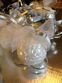 Te traemos un par de propuestas para decorar tu árbol de navidad. acá te dejamos un paso a paso de dos de los diseños de esferas navideñas e...