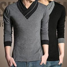 Buy Besto V-Neck Long-Sleeve Top at YesStyle.com! Quality products at remarkable prices. FREE WORLDWIDE SHIPPING on orders over US$35.