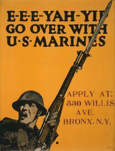 Los mejores carteles de propaganda de la Primera Guerra Mundial