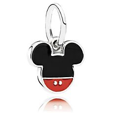 Mickey Mouse ''Mickey Icon'' Charm by PANDORA