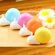 1 x cute animal snails correction tape material escolar kawaii stationery office school supplies papelaria 6M #Affiliate