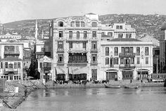 Thessaloniki, 1915 Greece Pictures, Old Pictures, Old Photos, History Of Photography, Urban Photography, Thessaloniki, Retro Aesthetic, Old Postcards, Historical Photos