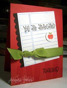 Cute Teacher Card