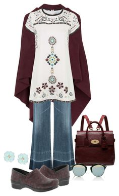 """Jovonna Adel Dress & pants"" by polyvore4leah ❤ liked on Polyvore featuring Topshop, Citizens of Humanity, Dansko, Mulberry, Christian Dior, Dettagli, women's clothing, women's fashion, women and female"