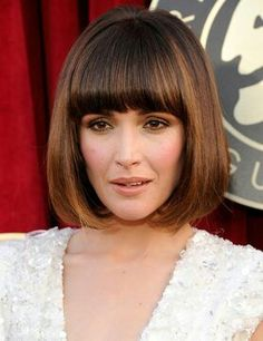 haircuts for with bangs i a tousled bob with fringe lu lu makeup 5453