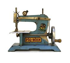 French Toy Sewing Machine. by LeBonheurDuJour on Etsy, $45.00