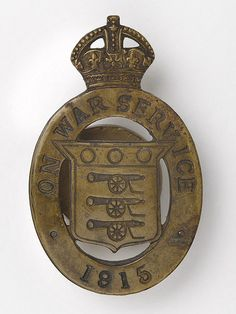 War Service badge worn by people in 'reserved occupations', 1914-1918