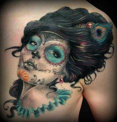 Hello Kitty Nerd Wallpaper   Girl Com Pena No Cabelo Arte Tattoo Fotos E Ideias Para Tatuagens