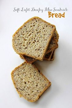 Paleo Sandwich Bread! Soft, light, doughy, packed full of fibre and #grainfree goodness!