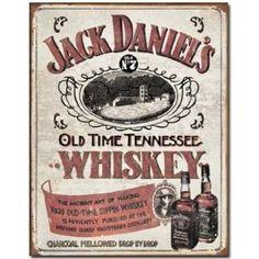 ブリキ看板 Jack Daniels - Sippin Whiskey