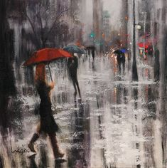 Original Cities Painting by Chin H Shin Oil On Canvas, Canvas Art, Canvas Size, Original Paintings, Original Art, The Other Art Fair, Washington Square, Artwork Online, Affordable Art