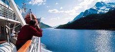 Cruise in Nordland, Norway