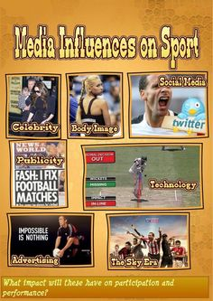 Media influences on sport #gcsepe pic.twitter.com/d799H4Ulmz