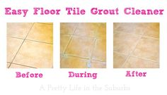 easy floor tile grout cleaner, cleaning tips, flooring, tile flooring, tiling Floor Grout Cleaner, Floor Tile Grout, Clean Tile Grout, Shower Cleaner, Tile Flooring, Tiling, Floors, Shower Grout, Tub Cleaner