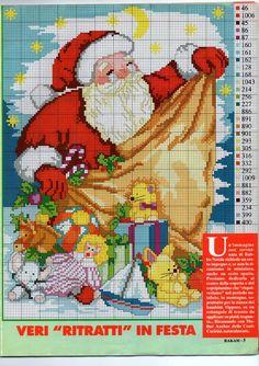 Cross stitch Christmas *<3* Point de croix Noël