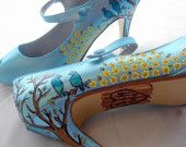 handpainted freaking awesome shoes