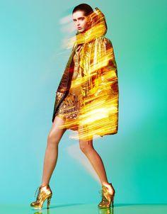 Miu Miu Fall 2014 skirt   Madame Figaro 18th November 2014