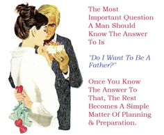 Fatherhood question