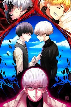 Tokyo Ghoul. Why can't I control these feels. I really hope Hide comes back in Re and he gets a bigger part.