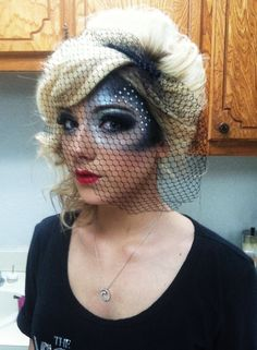 theme was masquarade, added a little edge to it ! By Lexi C. Miller