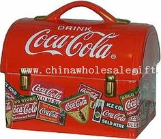 Lunch Box Coca-Cola Cookie Jar