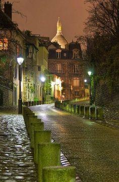 Montmartre, Paris by Jean Cunnings