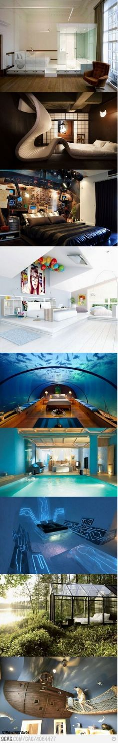 Just awesome bedrooms!!