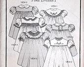 Precious Dress Pattern.  Collars Etc. Yoke Dress I