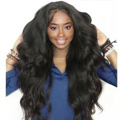 Rabake Brazilian Body Wave Hair 3 Bundles With Closure Grade Brazilian Virgin Hair Wavy Human Hair Bundles With off promotion factory cheap price,DHL worldwide shipping, store coupon available. Cheap Human Hair, Human Hair Lace Wigs, Remy Human Hair, Human Hair Extensions, Remy Hair, Weave Extensions, Best Virgin Hair, Natural Hair Weaves, Brazilian Hair Bundles