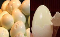 Vařte vajíčka jako profíci a už nikdy se nebudete trápit s loupáním skořápek Food Art, Cooking Tips, Food And Drink, Eggs, Breakfast, Morning Coffee, Egg, Egg As Food, Cooking Hacks