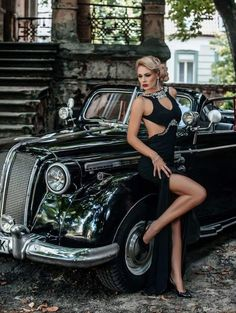 17 Trendy beautiful cars for women pin up Sexy Cars, Hot Cars, Sexy Autos, Models Men, Up Auto, Pin Up, Belle Silhouette, Mode Glamour, N Girls