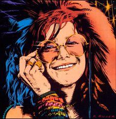 Mais de Bolsa Janis Joplin: led zeppelin, jimi hendrix, radiohead, the cure, the strokes Janis Joplin, Rock Posters, Band Posters, Concert Posters, Pink Floyd, Iron Maiden, Arte Bob Marley, The Beatles, Acid Rock