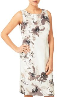 Jacques Vert Floral Placement Print Dress