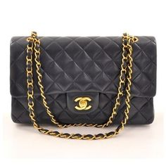 I've always wanted a simple black chanel purse because they will never go out of style! I will buy one one day!