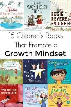 Children's Books That Promote a Growth Mindset Help reinforce a growth mindset in your kids with these fourteen children's books.Help reinforce a growth mindset in your kids with these fourteen children's books. Social Emotional Learning, Social Skills, Kids Reading, Teaching Reading, Reading Books, Teaching Ideas, Teaching Grit, Teaching Resources, Close Reading