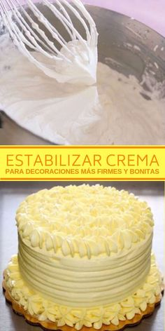 Cake decorating isn't quite as hard as it looks. Listed below are a couple of straightforward suggestions and tips to get your cake decorating job a win Frosting Tips, Frosting Recipes, Frosting Techniques, Bakery Recipes, My Recipes, Easy Cake Decorating, Drip Cakes, Cakes And More, Cupcake Cakes