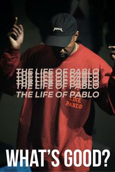 Hip Hop rapper Kanye West aka Yeezy as Pablo Picasso. Make your own The Life of Pablo album cover. Music