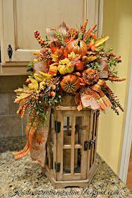 Fall Lanterns, Fall Months, Fall Arrangements, Thanksgiving Centerpieces, Halloween Trees, Fall Wreaths, Tis The Season, Fall Crafts, Autumn Leaves