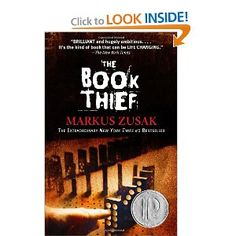 Love this book! The Book Thief by Markus Zusak. Everyone should read this book. It is beautifully narrated by an unlikely sympathetic character. Set in war torn Germany, it is the story of a young girl, the book thief, and those who love her. Up Book, This Is A Book, I Love Books, Book Nerd, Great Books, Amazing Books, Big Books, Children's Books, Books To Read In Your Teens