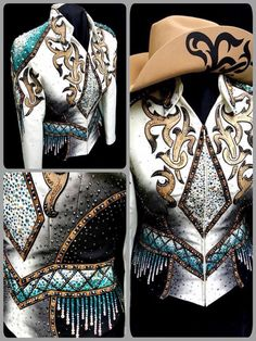 love the idea of airbrushed appliques, colors are nice