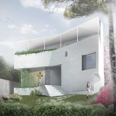 """""""The north facing rear elevation of Tiller House #AustralianArchitecture"""""""