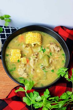 Sancocho - Traditional Stew Recipe from Panama Panamanian Food, Sancocho Colombiano, Panama Recipe, Real Food Recipes, Cooking Recipes, Yummy Food, Easy To Cook Meals, Spanish Dishes, Kitchens