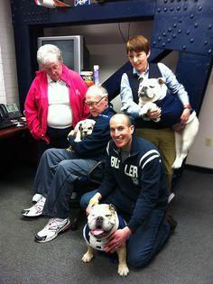 Three generations of @butleru Bulldogs  Butler University --- Blue I Blue II & Blue III