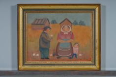 Nikolai Lehto, 1979, 29x39 cm - Huutokauppa Helander 09/2015 Naive Art, Finland, Over The Years, Surrealism, Illustrations, Traditional, Portrait, Artist, Painting