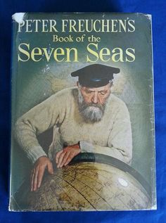 Peter Freuchen's Book of the Seven Seas Vintage 1957 HCDJ